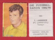 Liverpool Tommy Lawrence Scotland 363